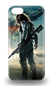 New Hollywood Captain America The Winter Soldier Sci Fi Adventure Action Skin 3D PC Shatterproof 3D PC For Iphone 6 Phone Case Cover ( Custom Picture For Iphone 6 Phone Case Cover ) Kimberly Kurzendoerfer