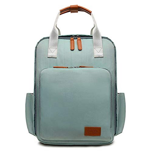 HaloVa Diaper Bag, Mommy Backpack, Large Capacity Baby Nappy
