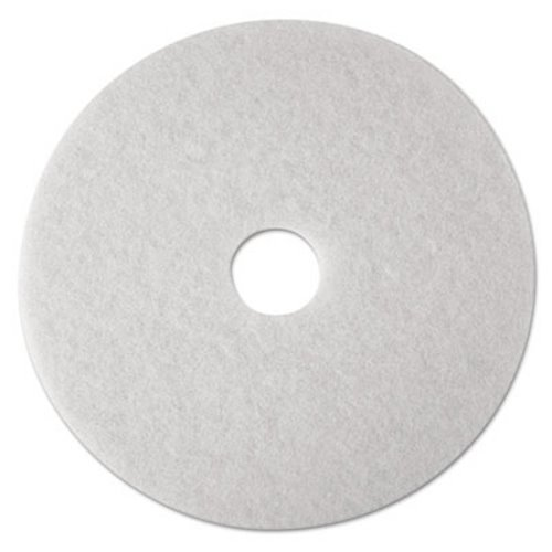 3M Corporation MCO 08479 4100 Low-Spd Flr Polish Pad 15In white 5 ()