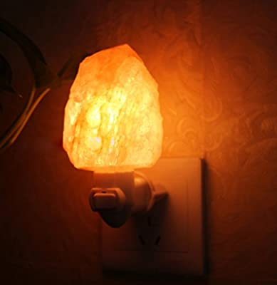 Natural Himalayan Salt Night Light, Cegar Nursery Lamp Mini Decorative Night Lighting