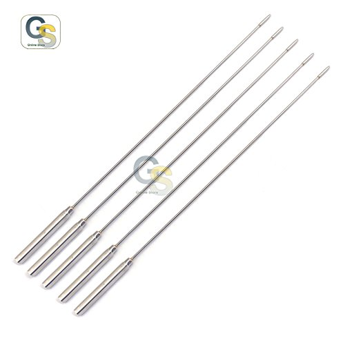G.S SET OF 5 PCS BAKES ROSEBUD SOUNDS DILATOR 3MM BEST QUALITY