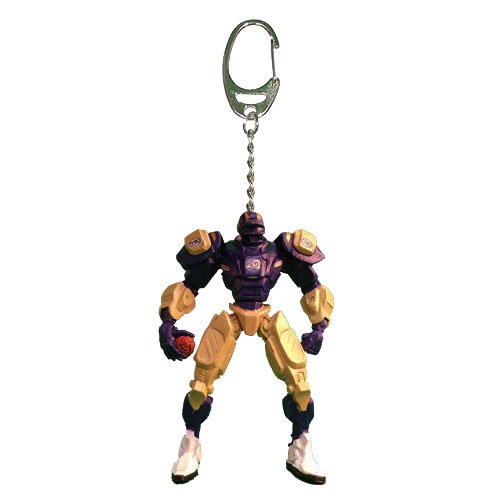 Louis Rams Nfl Keychain (NFL St. Louis Rams Fox Sports Team Robot Key Chain, 3-inches)