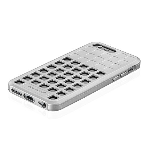"Fosmon DURA-SQUIRCLE TPU Case Cover hülle für Apple iPhone 6 Plus / 6s Plus (5.5"") - Silber"