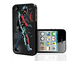 Man By Day and Astronaut By Night Hard Snap on Phone Case (iPhone 4/4s)