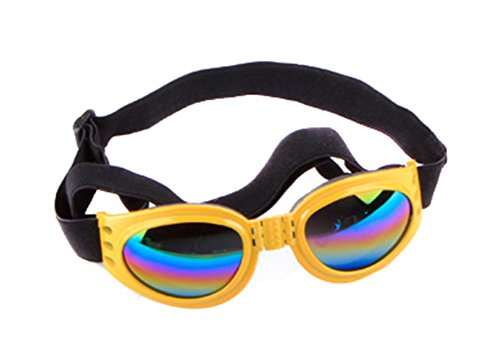 Freerun Dog Goggles Pet Sunglasses Eye Wear UV Protection Waterproof Sunglasses for Dogs - - Site Best Online Sunglasses