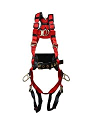 Elk River 62456 WindEagle Polyester/Nylon 4 D-Ring LE Harness with Quick Connect Buckles, 3X-Large