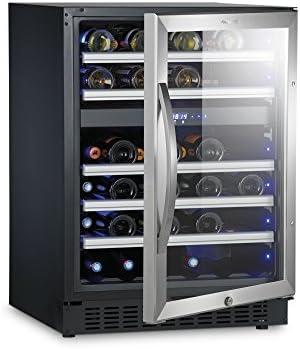 Dometic MaCave S 46G - Vinoteca con puerta de cristal, 46 botellas[Clase de eficiencia energética A]
