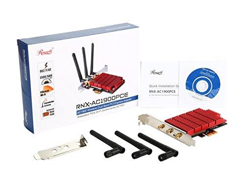 Rosewill RNX-AC1900PCE PCIe x1 802.11a/b/g/n/ac Wi-Fi Adapter