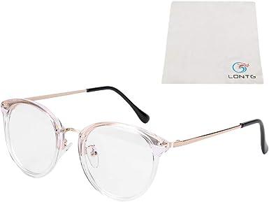 Nerd Brille Nerdbrille ohne Stärke Retro Style transparente Linsen Männer Frauen