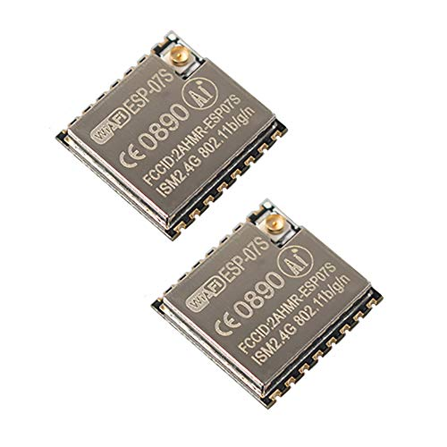 Sunhokey ESP8266 Serial To WIFI Module ESP-07S Industrial Grade Wireless Module(Pack of 2)