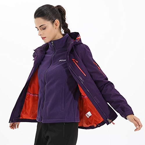 2018 Nuova Donna Berboom Coppia Darkpurple Impermeabile Caldo Antivento Mountain Da Uomo E Vestiti Giacche dxFFSw0