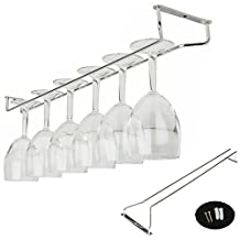 "Liangxiang Wine Glass Kitchen Under Fixing Wall Rack Holders Hanger Cup Holder(21"")"