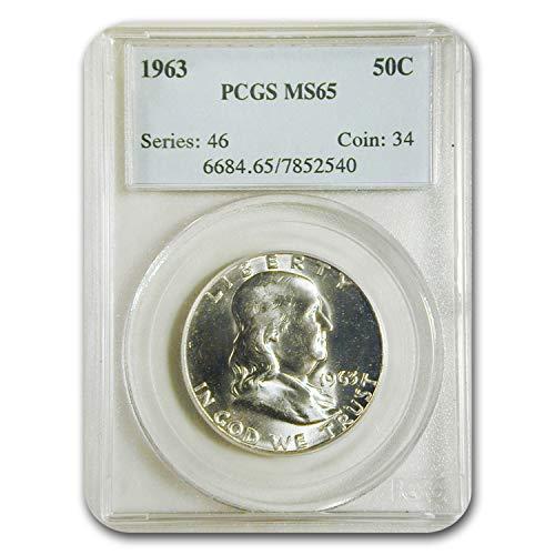 1963 Franklin Half Dollar MS-65 PCGS Half Dollar MS-65 PCGS