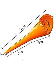MIFASA - Embudo de llenado de cárter de Combustible para Coche, Moto, Gasolina, Embudo de llenado de Aceite