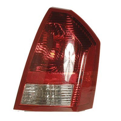 PASSENGER SIDE TAIL LIGHT Chrysler 300 LENS AND HOUSING FOR MODELS WITH V6 ENGINES