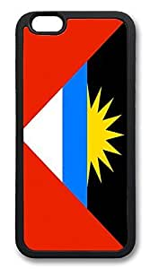 ACESR Antigua And Barbuda Flag Shop iPhone 6 Case pc hard Back Cover Case for Apple iPhone 6 4.7inch Black