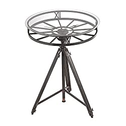 Sterling Industries Tripod Clock Table