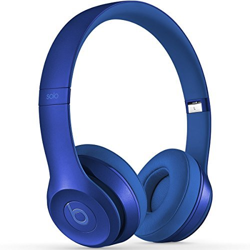 Beats by Dr. Dre Solo2 On-Ear Headphones, 3.5 mm Jack, In-Line Volume Control, Royal Collection, Blue Sapphire by Beats