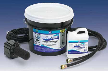 J.C. Whitlam FLOW-KIT Flow-Aide System Descaler Kit (Pumps Heater Tankless Water)