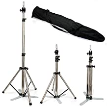 Adjustable Stainless Steel Tripod Stand Mannequin Holder for Training Head +Bag