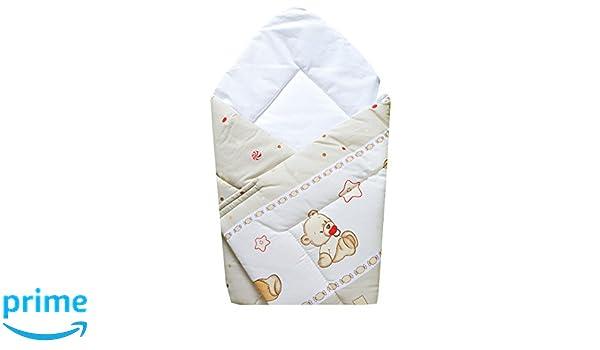 cosing 331 - 011 - 155 Baby einschlagdecke Baby cervical Saco de dormir oso parte Capuccino, bronce: Amazon.es: Bebé