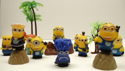 14 Piece Minion Playset