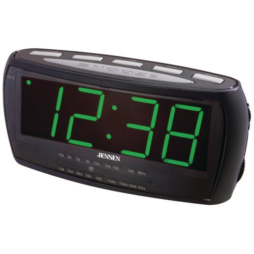 JENSEN JCR-208 AM/FM Alarm Clock Radio Computers, Electronics, Office Supplies, Computing by Unknown