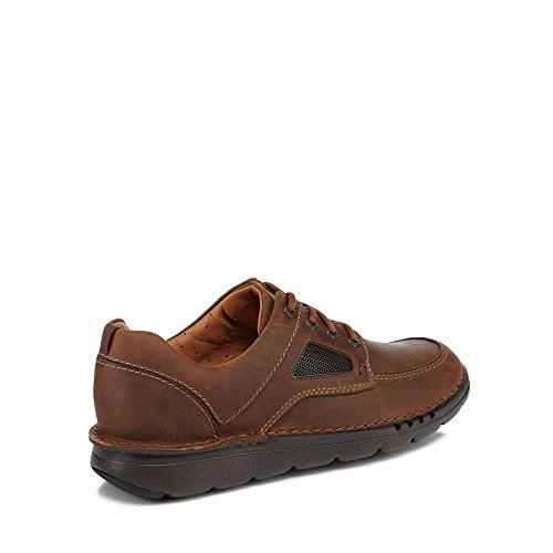 buy cheap official Clarks Men Dark Tan Leather 'Un Nature Time' Trainers cheap shop offer sale shop for 91kuywdj
