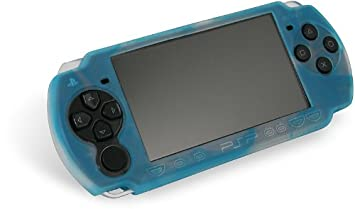 Speed-Link Silicon Skin for PSP™ Slim&Lite, white-blue - fundas para consolas portátiles (white-blue) Azul