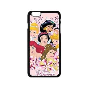 KKDTT Disney cartoon princesses Cell Phone Case for Iphone 6
