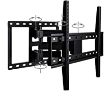 "Full-Motion TV TV Wall Telescopic mounting Bracket for Aerial Design for Most 26-80"" LED, LCD, OLED Flat Panel TVs with Swivel Articulated arm mounting up to 132 lbs,40and70inches"