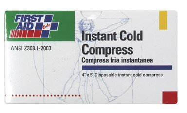 First Aid Only Inc - FAOB503 - FIRST AID ONLY, INC. Instant Cold Compress