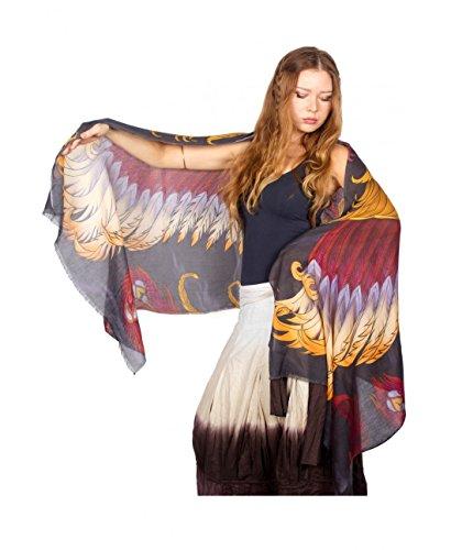 Phoenix Fantasy Painted Evening Bridesmaid