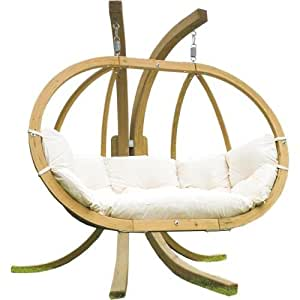 Amazonas Globo Royal Stand - Estructura de madera de pícea para colgar la silla, multicolor
