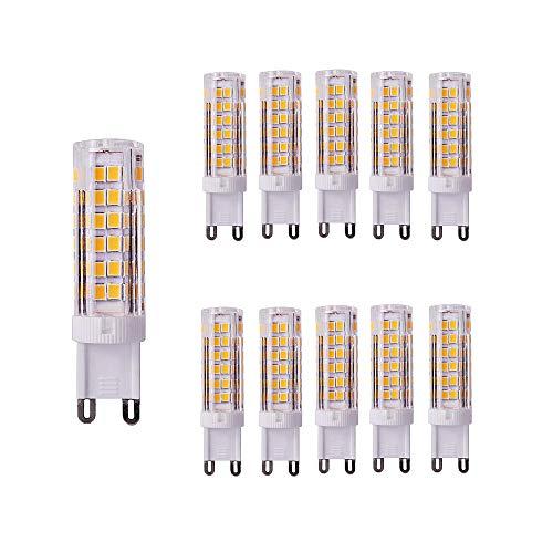 7 Chaud Blanc Ampoule De 10 W 65 3000 Équivalent Ougeer Led G9 Lot txBoQsCdrh