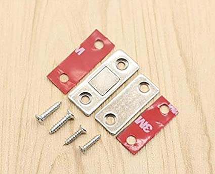 Ultra-Thin Cabinet Door Magnetic Drawer Magnet Stainless ...