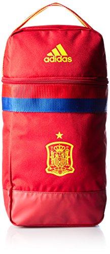 adidas Federación Española de Fútbol 2016 - Portabotas, color escarlata, talla única Escarlata