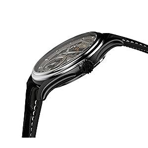 Armand Nicolet Hombre Reloj Mecánico con Esfera Gris Pantalla analógica y Negro Correa de Piel a750ana-gr-p713nr2 2