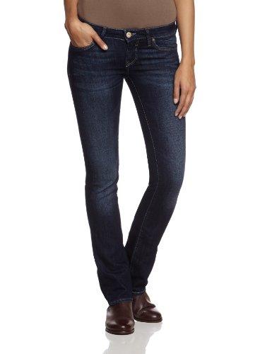 Olivia; Rinse Brushed Olivia 16354; Mavi Leg Jeans Donna Straigh Boho Da Hcq0p8