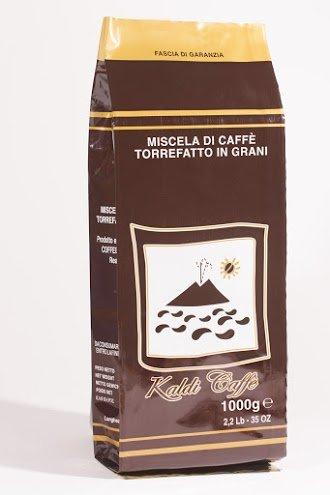 Kaldi Caffe - Espresso Beans Decaf, case of 6-2.2lb bags by Kaldi Caffe