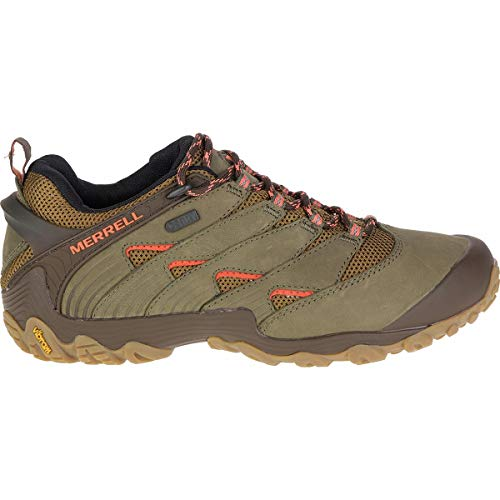 Merrell Women's Chameleon 7 Waterproof Hiking Shoe, Dusty Olive, 08.0 M US