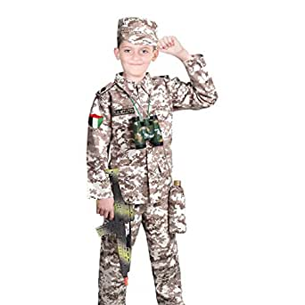 Military Profession Costume for Boys