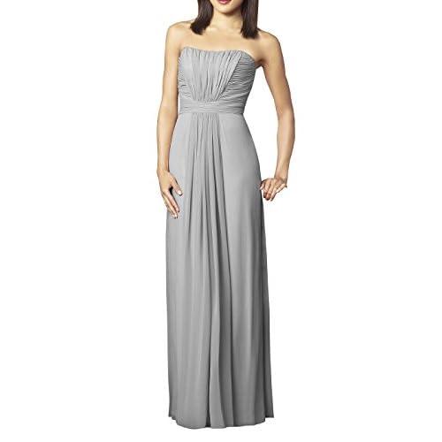 free shipping YINHAN Women\'s Floor Length Strapless Long Bridesmaid ...