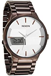 Nixon Spencer Watch - Men's All Brown/Brown, One Size