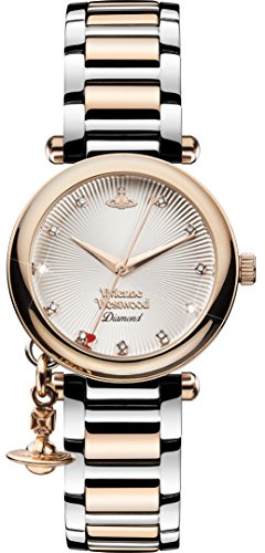 Vivienne Westwood Women's VV006SLRS Analog Display Swiss Quartz Two Tone Watch
