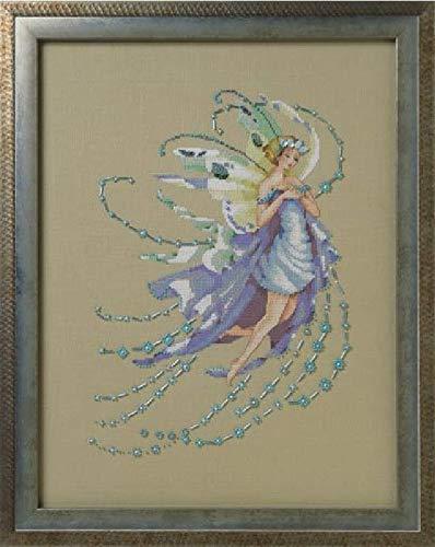 - Mirabilia Cross Stitch Pattern by Nora Corbett December Blue Topaz MD162