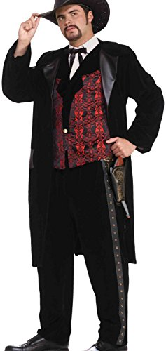 (Forum Novelties Men's Designer Collection Deluxe Gun Slinger Costume, Multi,)