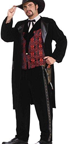 Forum Novelties Men's Designer Collection Deluxe Gun Slinger Costume, Multi, Small