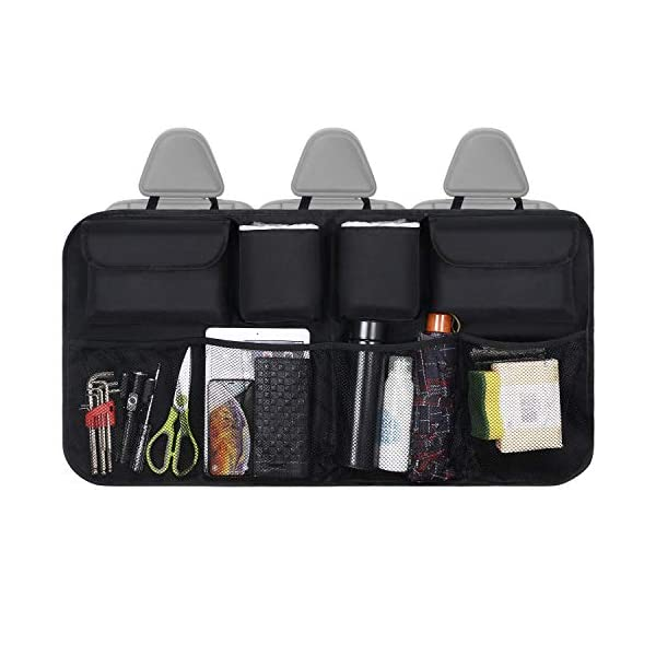 Organizer Auto, URAQT Protezione Sedile Auto Bambini Impermeabile, con Multi-Tasca dell'Organizzatore e Pocket… 7