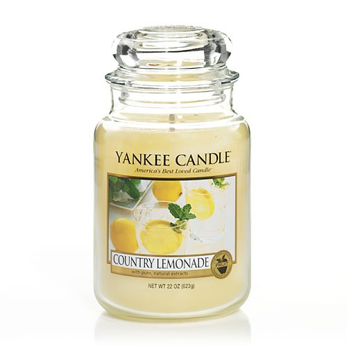 Yankee Candle Large 22Oz Jars-Country Lemonade Large Jar - Y